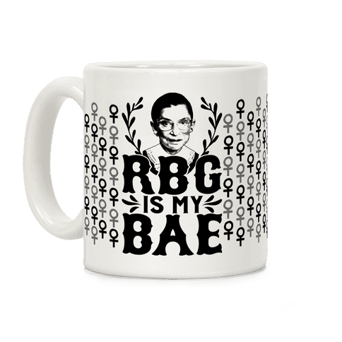 RBG Is My BAE Coffee Mug