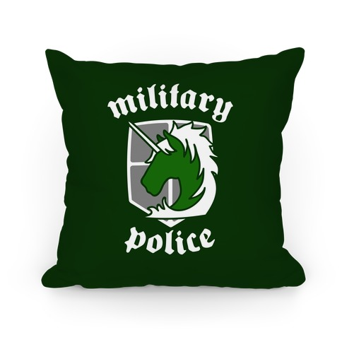 Military Police Crest Pillow