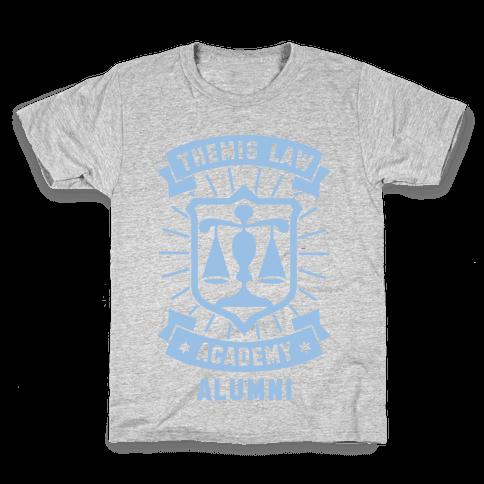 Themis Law Academy Alumni Kids T-Shirt