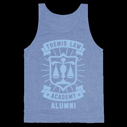 Themis Law Academy Alumni Tank Top