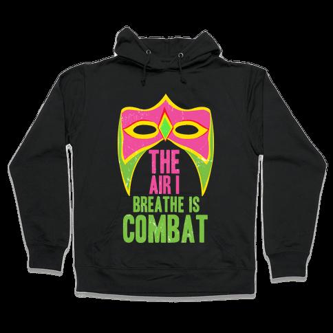 THE WARRIOR MOTTO Hooded Sweatshirt