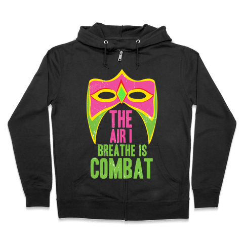 THE WARRIOR MOTTO Zip Hoodie