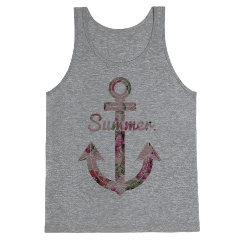 Summer Anchor Tank Top