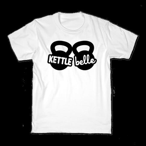 Kettle Belle Crop Top Kids T-Shirt