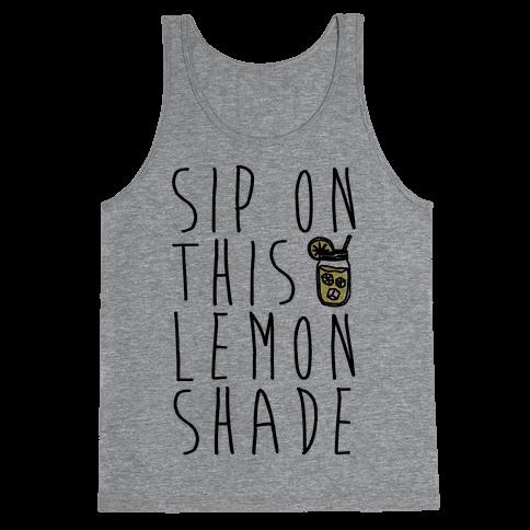 Sip On This Lemon Shade Tank Top