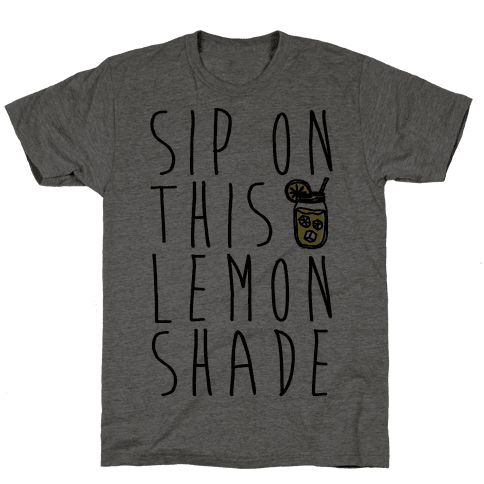 Sip On This Lemon Shade