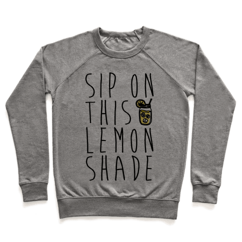 Sip On This Lemon Shade Pullover