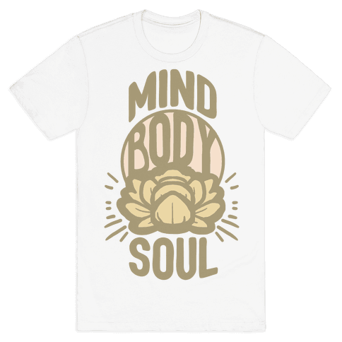 Mind Body Soul Mens T-Shirt