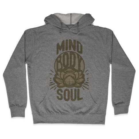 Mind Body Soul Hooded Sweatshirt