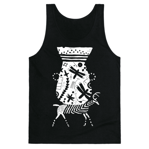 Deer Pot Tank Top