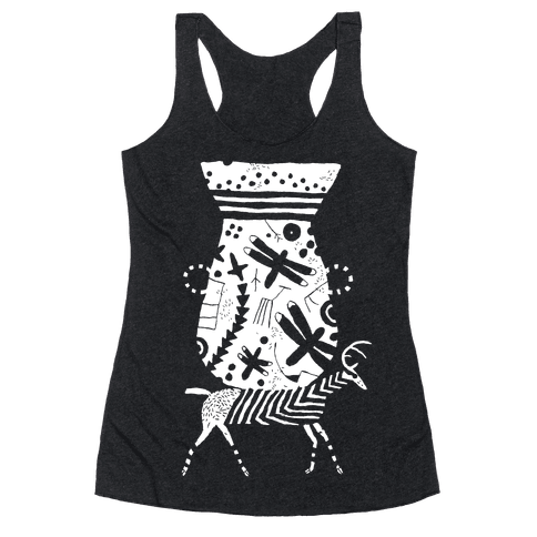 Deer Pot Racerback Tank Top