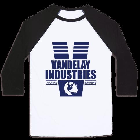 Vandelay Industries Baseball Tee