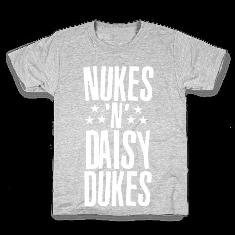 Nuke's 'n Daisy Dukes Kids T-Shirt
