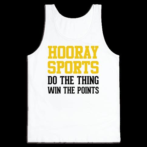 Hooray Sports (Yellow) Tank Top