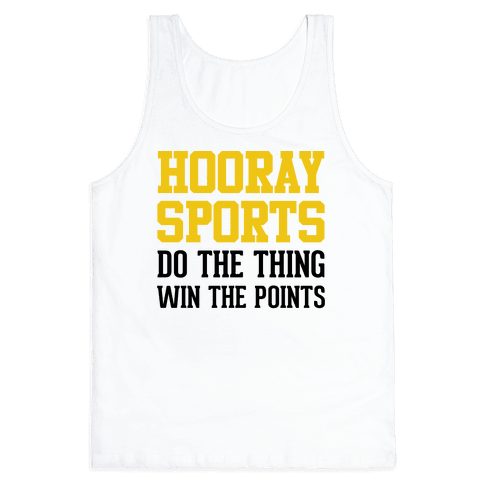 Hooray Sports (Yellow) Tank Top