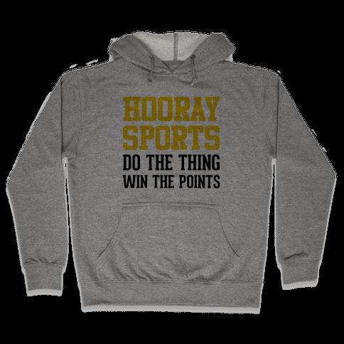 Hooray Sports (Yellow) Hooded Sweatshirt