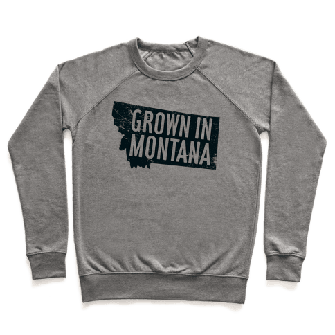 Grown in Montana Pullover