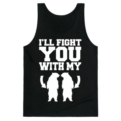 Bear Hand Fight Tank Top