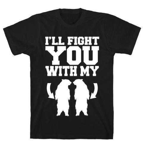 Bear Hand Fight T-Shirt