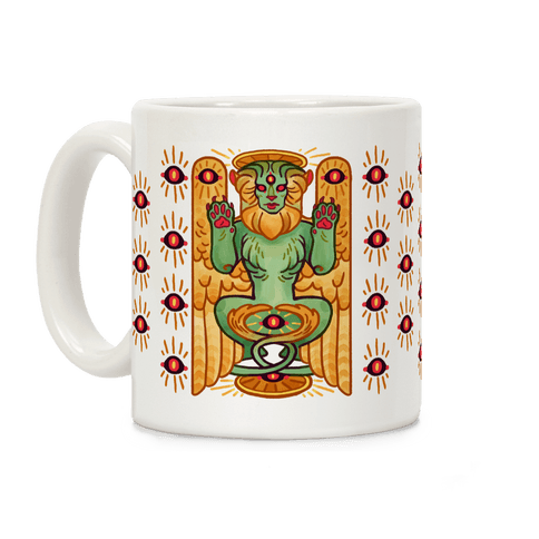 All-Seeing Sphinx Coffee Mug