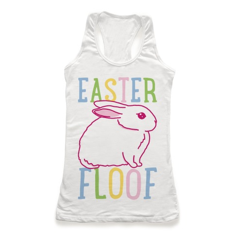 Easter Floof Racerback Tank Top