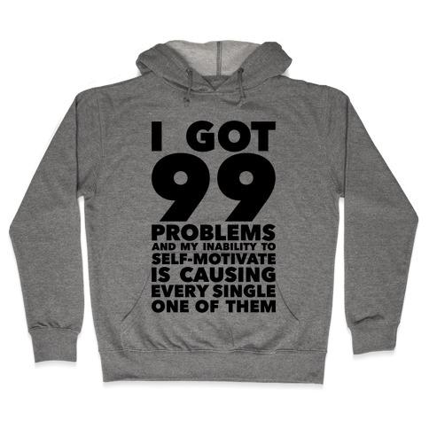 Self-Motivation Hooded Sweatshirt