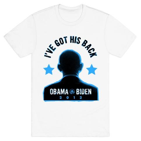 I've Got His Back Mens T-Shirt