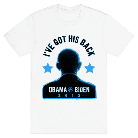 I've Got His Back Mens T-Shirt