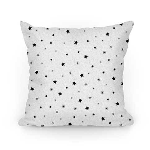 Twinkling Stars Pattern Pillow