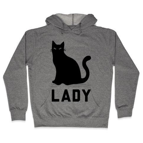 Cat Lady Hooded Sweatshirt