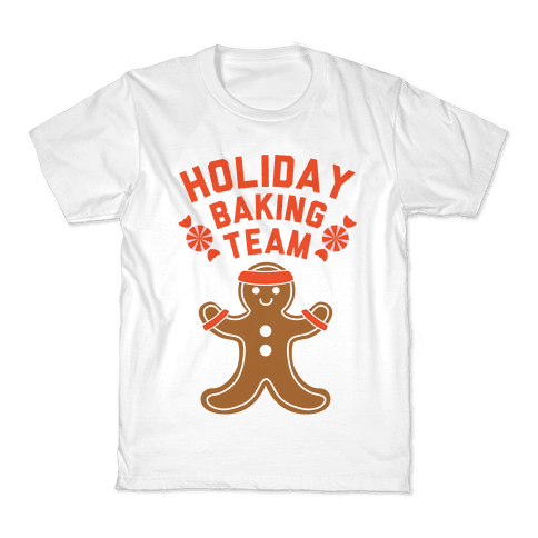 Holiday Baking Team Kids T-Shirt