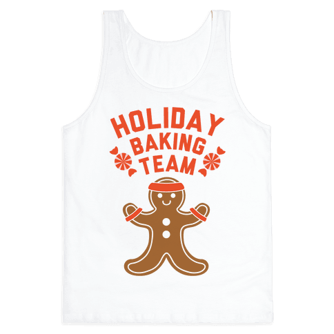 Holiday Baking Team Tank Top