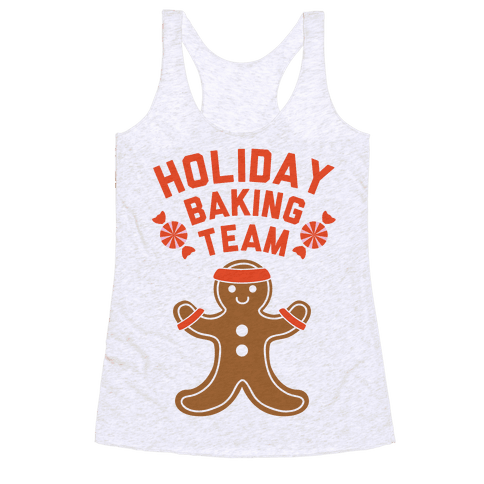 Holiday Baking Team Racerback Tank Top