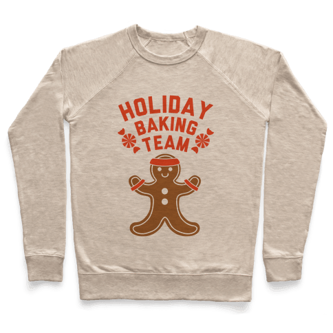 Holiday Baking Team Pullover