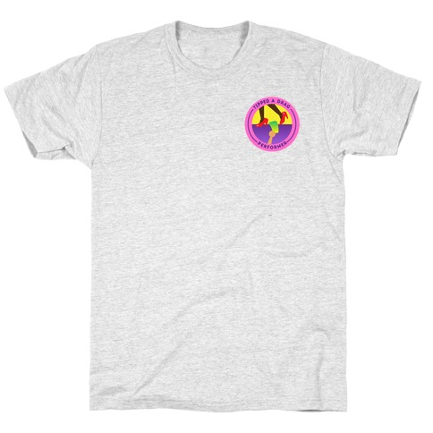 Tipped A Drag Performer Patch Version 2 T-Shirt