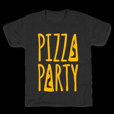 Pizza Party Kids T-Shirt