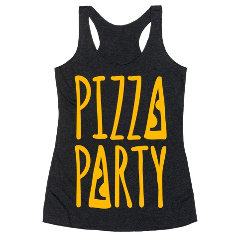 Pizza Party Racerback Tank Top