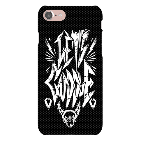 Let's Cuddle (Metal) Phone Case