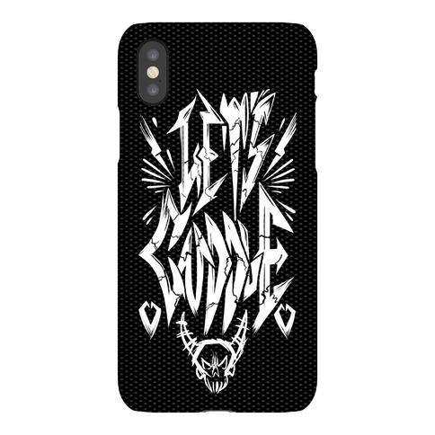 Let's Cuddle (Metal) Phone Case