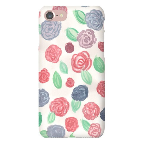 Watercolor Floral Pattern Phone Case