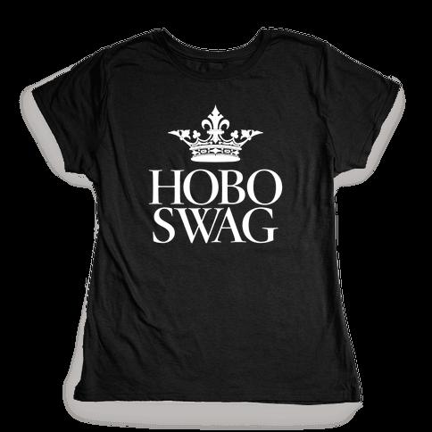 Hobo Swag Womens T-Shirt