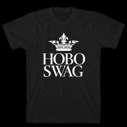 Hobo Swag Mens T-Shirt