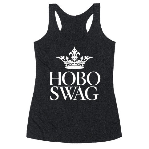 Hobo Swag Racerback Tank Top