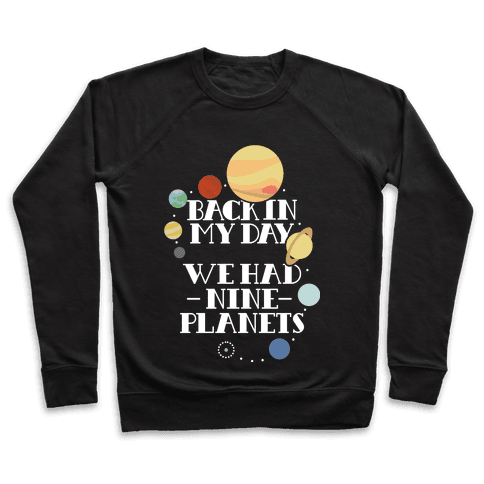 Nine Planets Pullover