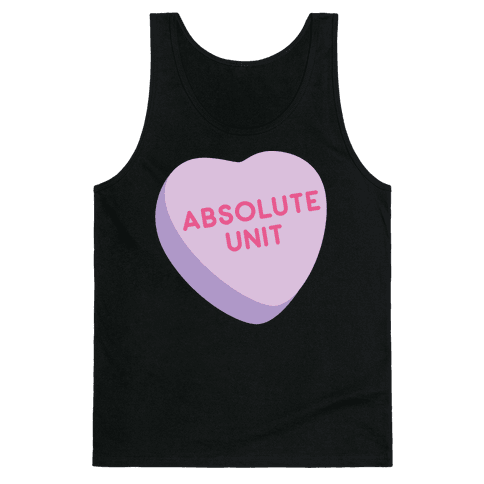 Absolute Unit Candy Heart Tank Top