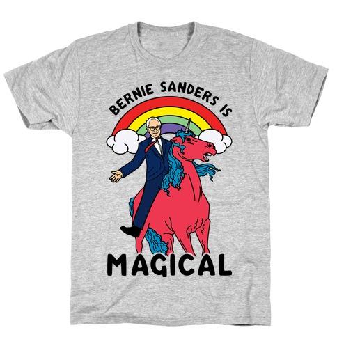 Bernie Sanders on a Magical Unicorn T-Shirt