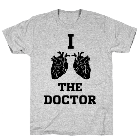 I Heart The Doctor Mens T-Shirt