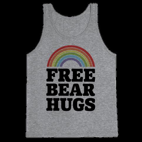 Free Bear Hugs Tank Top
