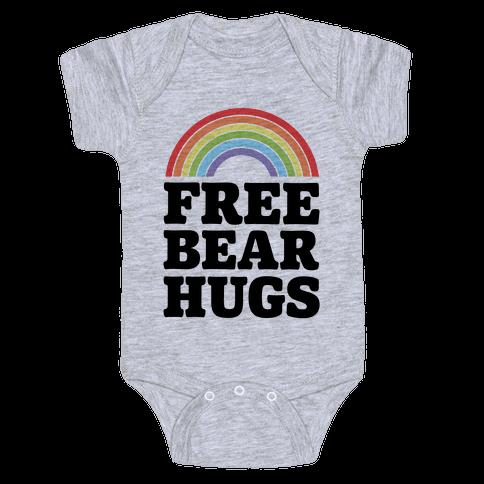 Free Bear Hugs Baby Onesy