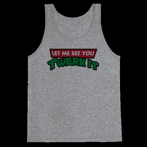 Turtle Twerk Tank Top